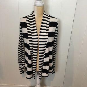 R.Q.T. Striped Lightweight Sweater, Size Small